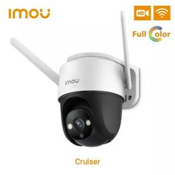 Imou 1080p Wi-fi Outdoor Ptz Camera Audio Full Color Night Vision W/ Floodlight