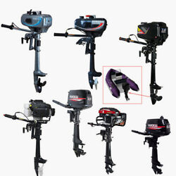 3.5 Hp-7 Hp 2/4 Stroke Outboard Motor Fishing Boat Engine Air / Water Cooling Ce