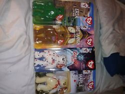 Rare 1997 Ty Ronald Mcdonald House Charities Beanie Babies Complete Set Of 4