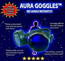 Pro Aura Glasses Dicyanin Style Ghost Hunting Torch Spirit Box Paranormal Reiki