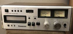 Vintage Panasonic Rs-808 8-track Stereo Record And Playback Deck + Tested Working