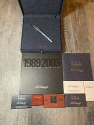 S.t. Dupont Andalusia Limited Edition Fountain Pen New With Box