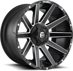 Alloy Wheels 22 Fuel Contra D616 Black/white For Hummer H2 02-10