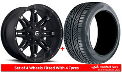 Alloy Wheels And Tyres 17 Fuel Hostage D531 For Dodge Dart [pf] 13-16