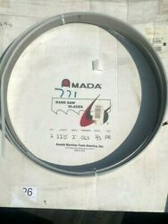 1- Nos Amada Protector Band Saw Blade 22 Ft X 2 X .063 Thick 2/3 Teeth Type Pr