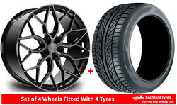 Alloy Wheels And Tyres 21 Riviera Rf108 For Bmw 6 Series [f12] 11-17