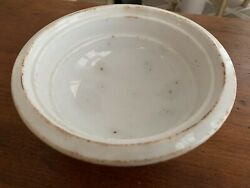 Antique Ironstone Footed Bowl, Farmhouse, French Cottage, Shabby Chic, Patina