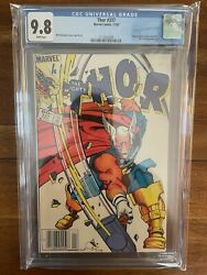 Thor 337 Newsstand Cgc 9.8 First Appearance Beta Ray Bill 1983