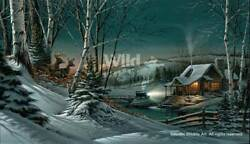 Terry Redlin Evening With Friends Legacy Canvas