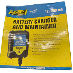 Seachoice 14383 Battery Charger And Maintainer 12v 500 Ma Marine Boat
