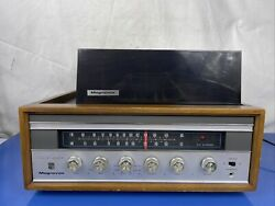 Vintage Magnavox 1k0812 Solid State Am Fm Stereo With Micromatic W620 Turntable