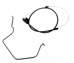 Mtd Snow Blower Clutch Cable 946-04091 And Auger Bail 747-04159a-0637 Genuine