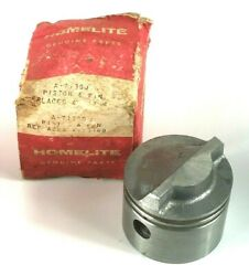 Nos Homelite 20mcs Chainsaw Piston And Pin No Clips Or Rings A-71380 A-71168