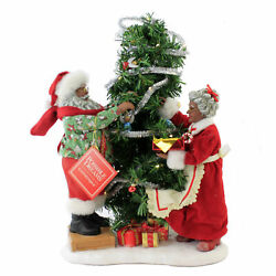 Possible Dreams It Takes Two Plastic Mr Mrs Claus Tree Decorating 6008476