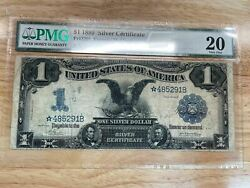 Us 1 1899 Silver Certificate Fr229 Star Note Pmg 20 Very Fine