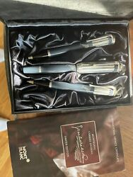 Set Of 3 Limited Edition Charles Dickens Pens