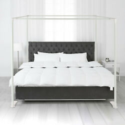 All Sizes Canopy Bed Frame 4 Corner Post Metal Mosquito Netting Frame Bracket