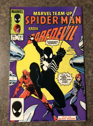 MARVEL TEAM UP 141 SPIDER MAN AND DAREDEVIL FIRST BLACK SUIT See Pics
