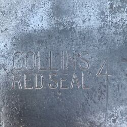 Vintage Collins Red Seal Double Bit Axe As Found