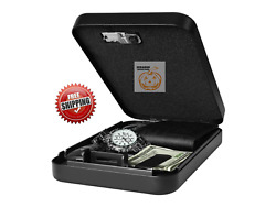 Fortress Portable Safe With 3-digit Combination Lock Foam Padded Interior
