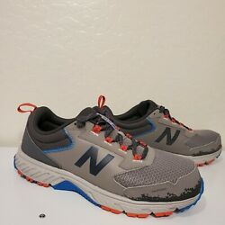 New Balance 510 V5 Mens Size 14 D Mt510lg5 Trail Running Shoes Gray New Athletic