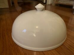 Antique Ironstone Cloche Dome Cover, Farmhouse Kitchen, French Cottage, Shabby