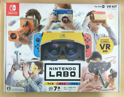 Nintendo Labo Toy-con 04 Vr Kit / No Items Missing, Unassembled / Home Video