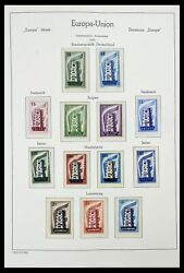 Lot 34573 Stamp Collection Europa Cept 1956-1974.