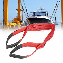 Lifting Sling Soft Hoist Webbing 5t Flat Thickened Pes Strap 4.72in 120mm Width