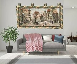 1716 French Tapestry Romantic Wall Hanging Medieval Home Deco Tapestry 2x3