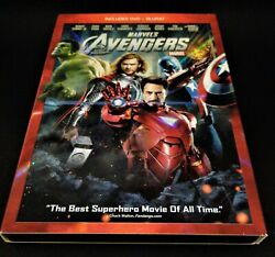 Marvels - The Avengers - Blu-ray And Dvd