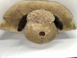 Pillow Pet Stuffed Animal Brown Dog 18quot; Puppy Plush Pillow Cleaned