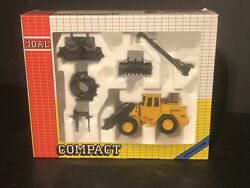Joal Compact Volvo L70 Front Loader Tractor W Attachments 150 In Box Ref 400
