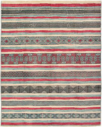 Modern Hand-knotted Carpet 9and0394 X 11and0399 Oriental Wool Area Rug