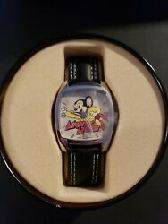 Mighty Mouse 50th Anniversary Watch With Collectors Tin And Box