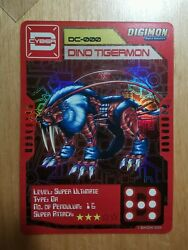 Digimon Digivice D-cyber Special Limited Carddino Tigermon Dc-000