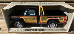 Vintage Nylint Pronto Pressed Steel Chevrolet Pickup Truck Near Mint In Box Nos