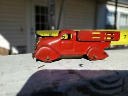 rare Vintage Marxs Toy Trucks Pressed Tin Made In The U.s.a
