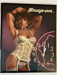 Snap On Colectable Advertising Clocks Vintage Snap On Clocks Snap On Wall Clocks