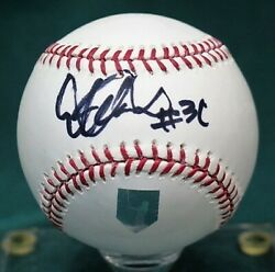 Ms Ichiroand039s Autograph 31 Writing Mlb Official Ball With Certification Check