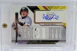 Mlb Ichiro 16 Topps Triple Threads Limited To Autographed Jersey Cards