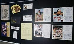 Sports Memorabilia Collection Reggie Jackson Induction Day Hall Of Fame Stamped