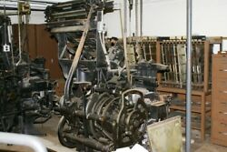 Antique Linotype Machines 2 Working, 1 For Parts Only