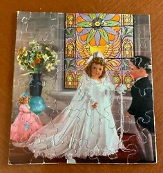 Vintage 1940's And 1950s Doll Jigsaw Puzzle 36 Pieces