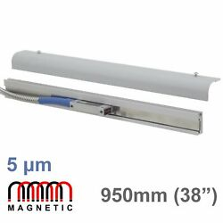 950mm 38 Magnetic Linear Scale Digital Readout Encoder Mag Dro Lathe Mill M-dro