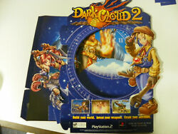 Dark Cloud 2 Playstation 2 Store Promo Counter Display Orig Release New Read