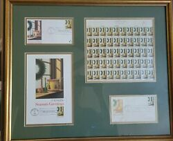 Bob Timberlake Signed First Day Of Issue Christmas Collection And Numbered Print
