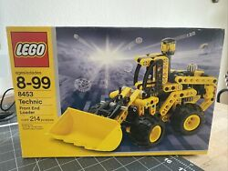Lego Technic Front End Loader 8453 In 2003 New Retired