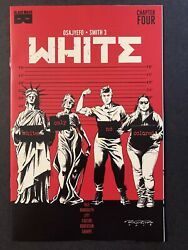 White 4 Randolph Cover A Black Mask Comic 1st Low Print Nm + Limited To 2500