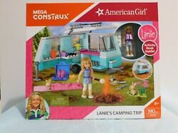 American Girl Lanies Camping Trip Mega Construx 2016 Playset Collectable